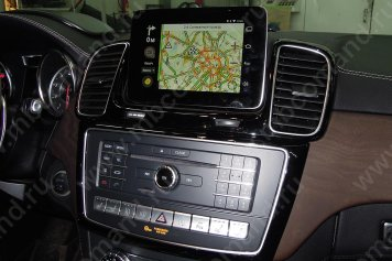 android mercedes yandex navigator