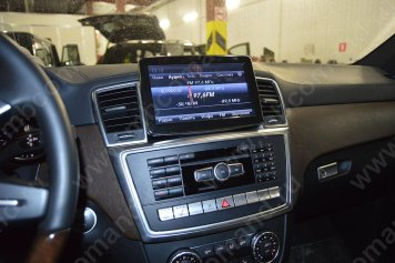 android monitor mercedes comand