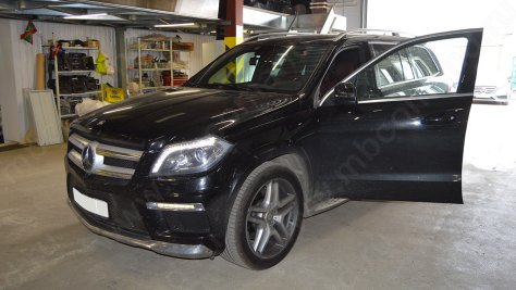 hodovie ogny mercedes gl x166