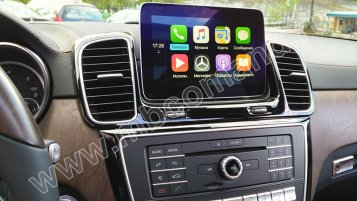 apple carplay na mercedes gle w166 audio20 5s1