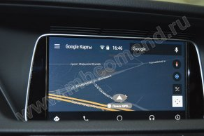 google maps android auto mercecedes