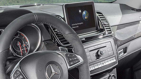 Mercedes Comand Online 5s1 для GLE Coupe C292
