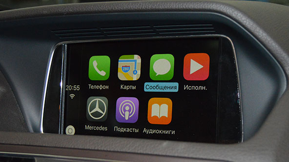 Apple CarPlay на Мерседес